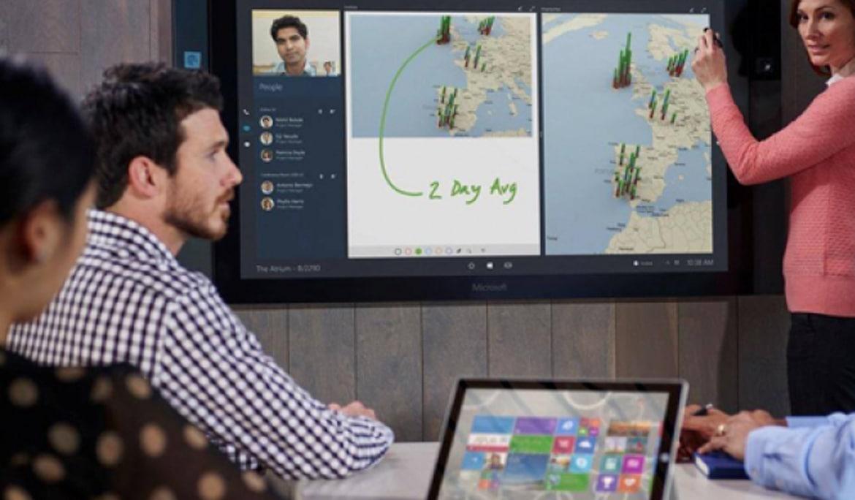 Solutia de colaborare-Microsoft Surface Hub