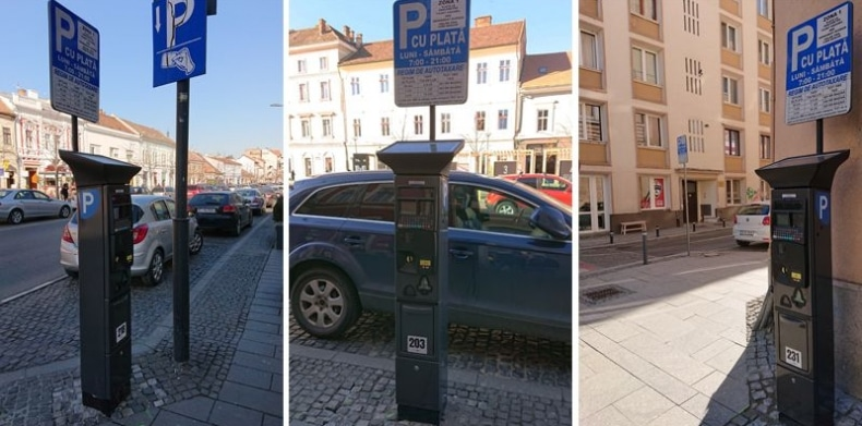 Primul lot de parcometre in Cluj-Napoca