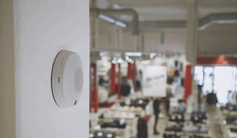 Sisteme de supraveghere video Axis cu sunet
